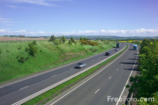 Picture of A69 - The Carlisle Sunderland Trunk Road - Free Pictures - FreeFoto.com