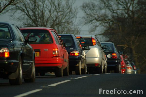 Picture of A696 Newcastle - Otterburn Trunk Road - Free Pictures - FreeFoto.com