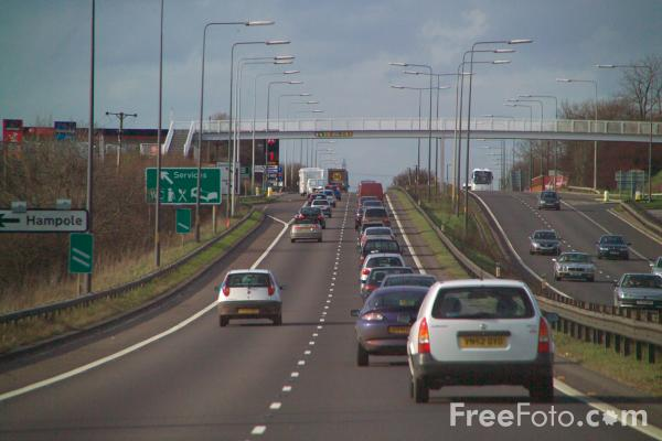 Picture of A1 Dual Carriageway North Yorkshire - Free Pictures - FreeFoto.com