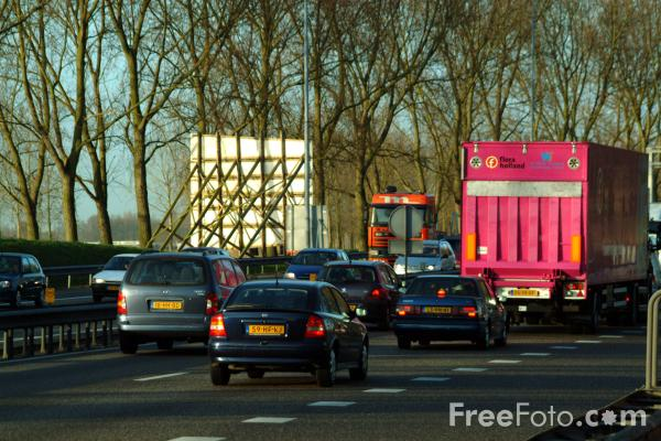 Picture of A1 Motorway  The Netherlands - Free Pictures - FreeFoto.com