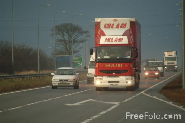 Picture of A19 Trunk Road - Free Pictures - FreeFoto.com