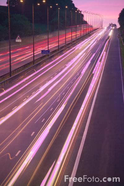 Picture of M6 Motorway - Free Pictures - FreeFoto.com