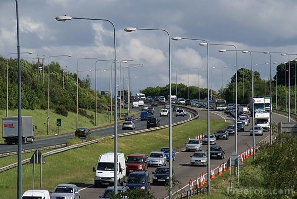 Picture of A1 Western By Pass, Gateshead - Free Pictures - FreeFoto.com