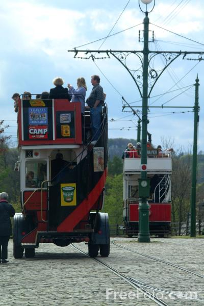 Picture of Tram, The North of England Open Air Museum - Free Pictures - FreeFoto.com