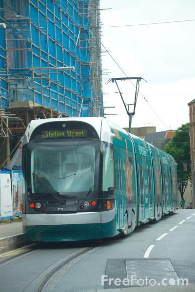 Picture of Nottingham Express Transit - Free Pictures - FreeFoto.com