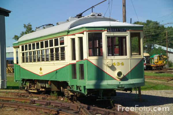 Picture of The Seashore Trolley Museum, Kennebunkport, Maine - Free Pictures - FreeFoto.com