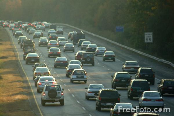 Picture of Interstate 95, Boston, MA - Free Pictures - FreeFoto.com