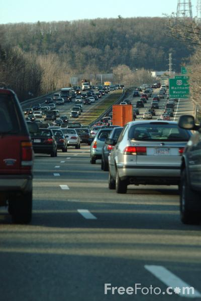 Picture of Interstate 95 - Boston, MA - Free Pictures - FreeFoto.com