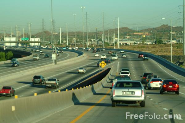 Picture of Interstate 101, Tempe, AZ - Free Pictures - FreeFoto.com