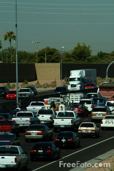 Picture of Congestion, Interstate 60, Tempe, AZ - Free Pictures - FreeFoto.com