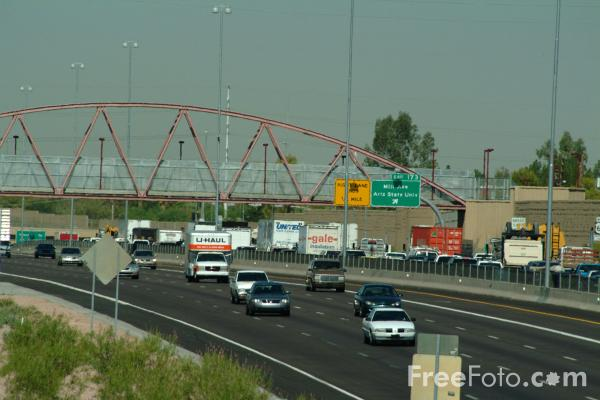 Picture of Interstate 60 - Tempe, AZ - Free Pictures - FreeFoto.com