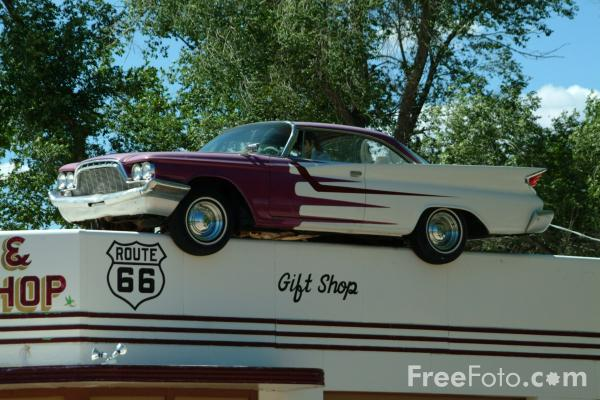 Picture of Seligman, Route 66, Arizona - Free Pictures - FreeFoto.com