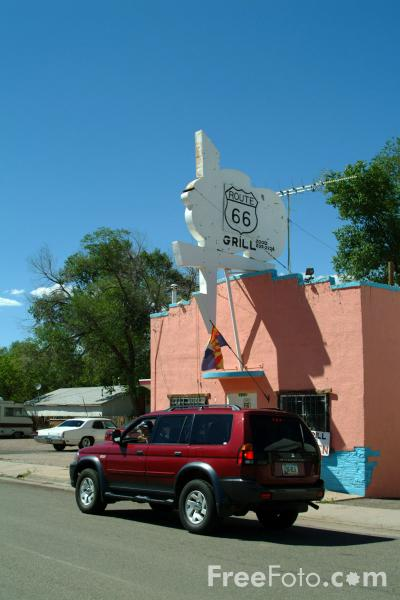 Picture of Ash Fork, Route 66, Arizona - Free Pictures - FreeFoto.com