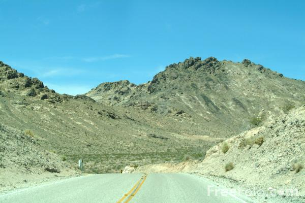 Picture of Route 374, Nevada, USA - Free Pictures - FreeFoto.com