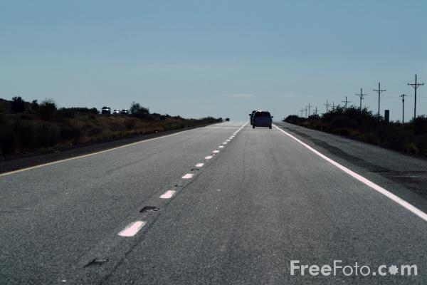 Picture of Interstate 40, Arizona - Free Pictures - FreeFoto.com