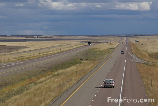 Picture of Interstate 15, Montana - Free Pictures - FreeFoto.com