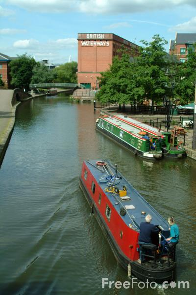Picture of Nottingham Beeston Canal - Free Pictures - FreeFoto.com