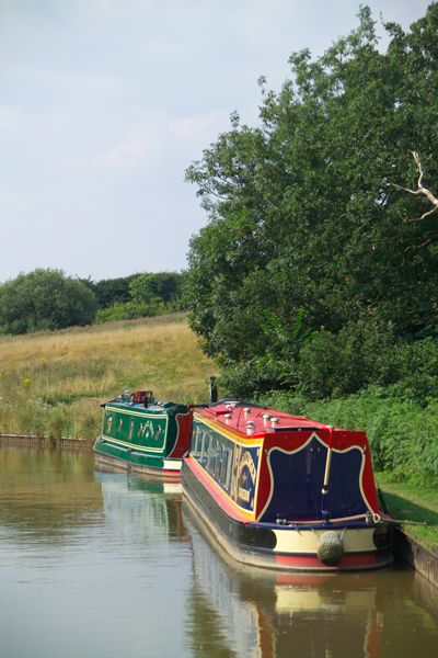 Picture of Canal Narrowboat, The Llangollen Canal - Free Pictures - FreeFoto.com