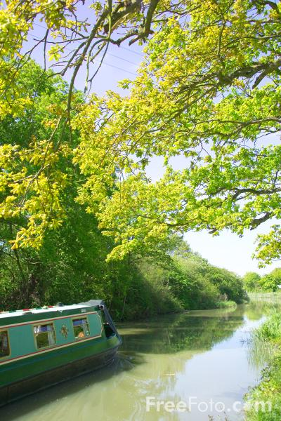 Picture of Grand Union Canal - Free Pictures - FreeFoto.com