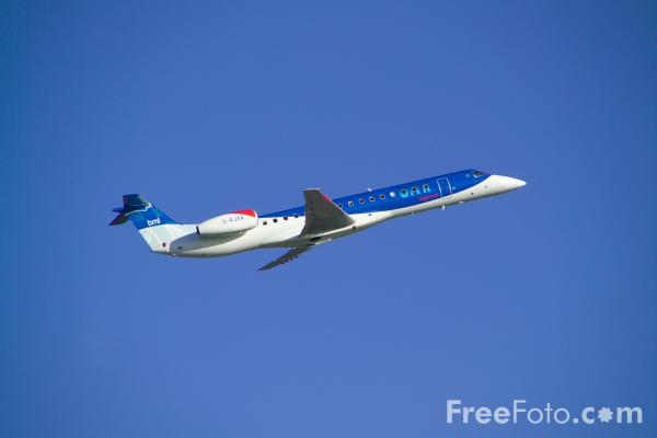 Picture of BMI Regional Embraer EMB-145EP G-RJXA - Free Pictures - FreeFoto.com