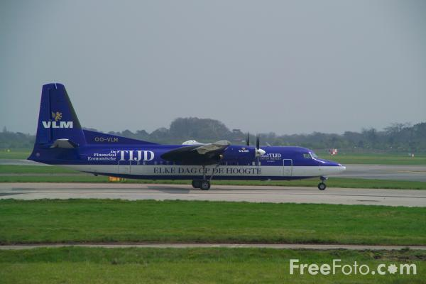 Picture of VLM Airlines Fokker 50 OO-VLM - Free Pictures - FreeFoto.com