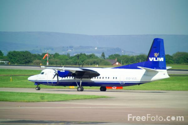 Picture of VLM Airlines Fokker 50 OO-VLS - Free Pictures - FreeFoto.com