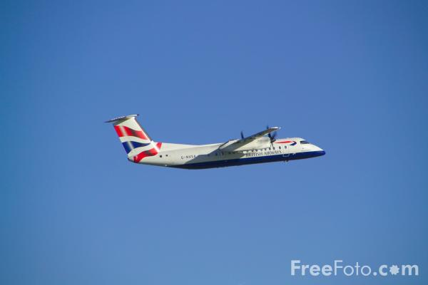 Picture of British Airways De Havilland Canada DHC-8-311 Dash 8 G-NVSA - Free Pictures - FreeFoto.com