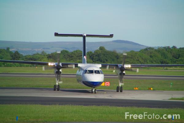 Picture of British Airways De Havilland Canada DHC-8-311Q Dash 8 G-BRYY - Free Pictures - FreeFoto.com