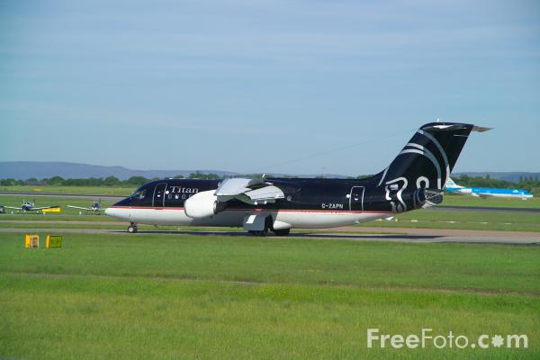 Picture of Titan Airways British Aerospace BAe-146-200QC G-ZAPN - Free Pictures - FreeFoto.com