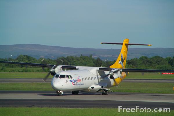 Picture of ATR-72 - Free Pictures - FreeFoto.com