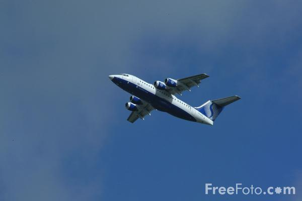 Picture of BAE 146 - Free Pictures - FreeFoto.com
