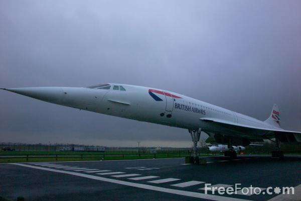 Picture of British Airways Concorde - Free Pictures - FreeFoto.com