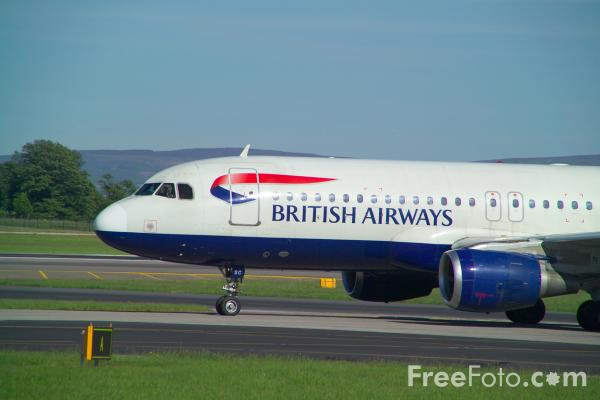 Picture of British Airways Airbus A320-111 G-BUSC - Free Pictures - FreeFoto.com