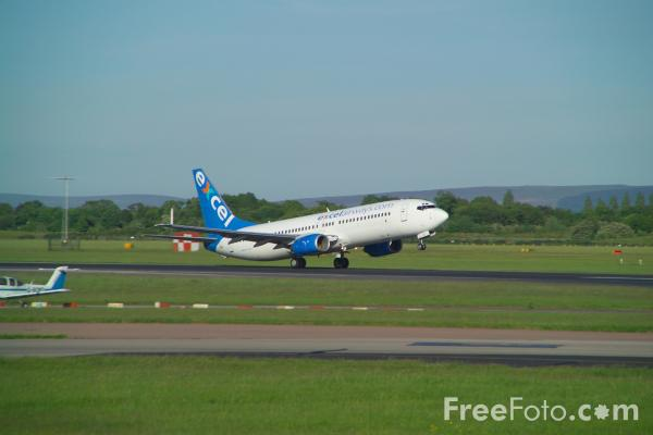 Picture of Excel Airways Boeing 737-81Q G-XLAC - Free Pictures - FreeFoto.com