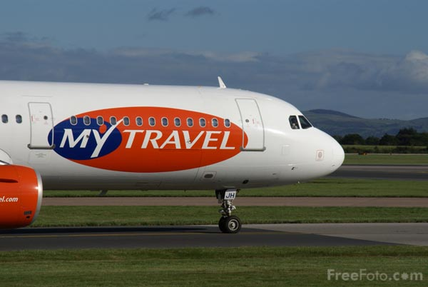 Picture of MyTravel Airways Airbus A321 G-DHJH - Free Pictures - FreeFoto.com