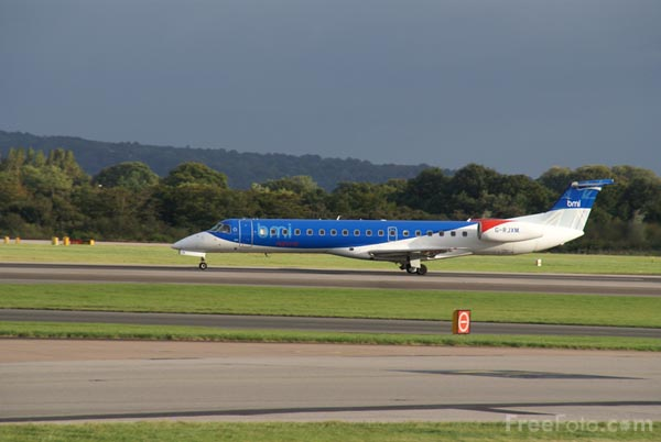 Picture of BMI Regional Embraer EMB-145MP G-RJXM - Free Pictures - FreeFoto.com