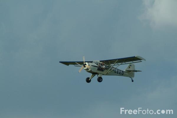 Picture of Denney Aerocraft Kitfox Mk.2 G-LEED - Free Pictures - FreeFoto.com