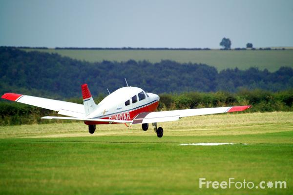 Picture of Compton Abbas Airfield - Free Pictures - FreeFoto.com