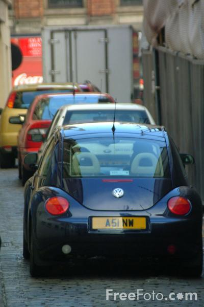 Picture of Traffic Jam in Newcastle City Centre - Free Pictures - FreeFoto.com