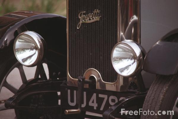 Picture of Vintage Car - Jowett - Free Pictures - FreeFoto.com