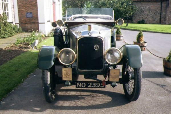 Picture of 1915 Vauxhall Vintage Car - Free Pictures - FreeFoto.com