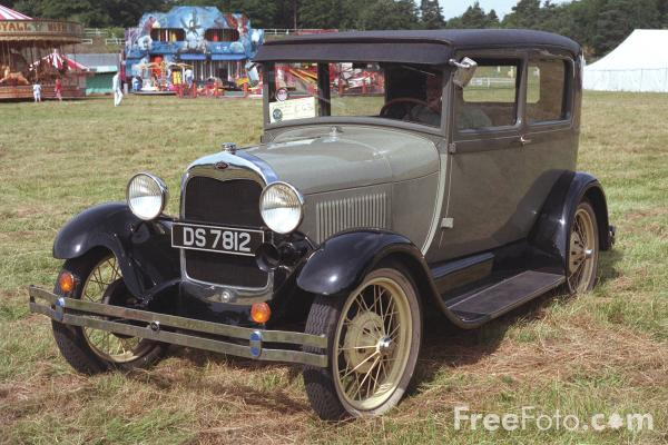Picture of 1928 built - Ford Salon - DS7812 - Free Pictures - FreeFoto.com