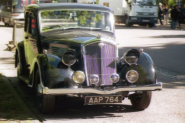 Picture of 1940's Wartime Wolseley - Free Pictures - FreeFoto.com