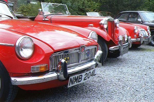 Picture of M.G.B. Sports Car NMB204L - Free Pictures - FreeFoto.com