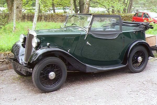 Picture of Morris Eight SER I 4-seater Tourer 1937 - Free Pictures - FreeFoto.com