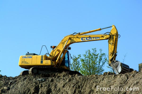 Picture of Construction Equipment - Free Pictures - FreeFoto.com