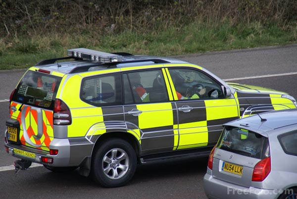 Picture of Highways Agency Traffic Officer Motor Vehicle - Free Pictures - FreeFoto.com