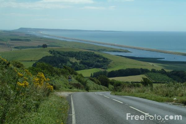 Picture of B3157, Abbotsbury, Dorset - Free Pictures - FreeFoto.com