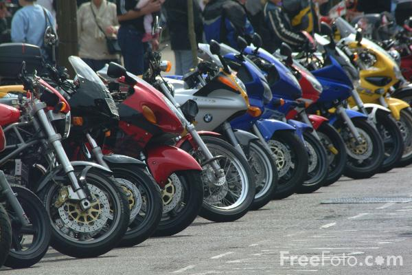 Picture of Motorcycles - Free Pictures - FreeFoto.com