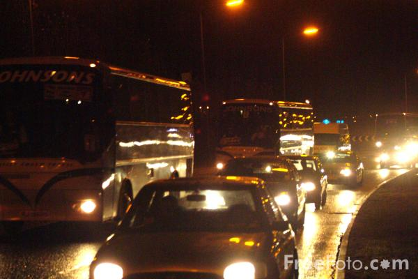 traffic at night by - photo #38